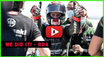 Embedded thumbnail for Can't Believe We Did It! - WorldSBK R04 - Motorland Aragon